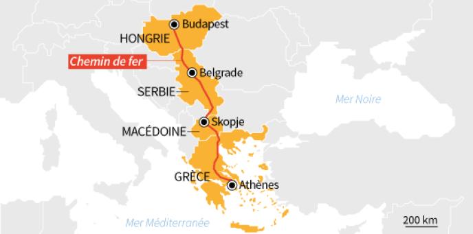 La Chine se renforce dans les Balkans pour déployer sa « nouvelle route de  la soie » cbecb0cb439