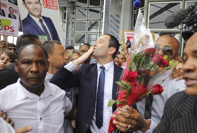 Le candidat socialiste à la présidentielle, Benoît Hamon, est arrivé samedi 1eravril à La Réunion,où il est soutenu par une partie de la gauche locale.