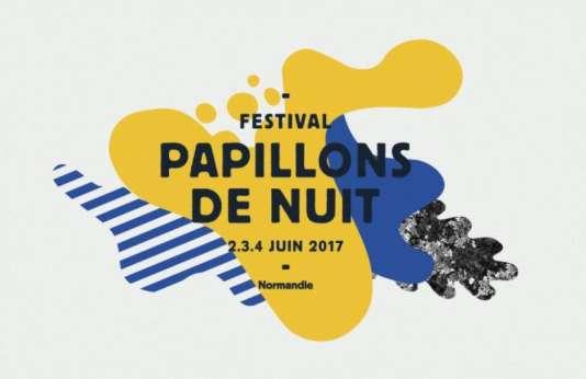 Afiche du festival Papillons de nuit du 2 au 7 juin 2017.