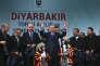 Le président turc, Recep Tayyip Erdogan, en meeting à Diyarbakir, le 1er avril, deux semaines avant le référendum sur la réforme constitutionnelle visant à lui procurer les pleins pouvoirs.