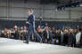 Emmanuel Macron, candidat à la présidentielle 2017, participe à un meeting de campagne au Parc Chanot à Marseille, le 1er avril.
