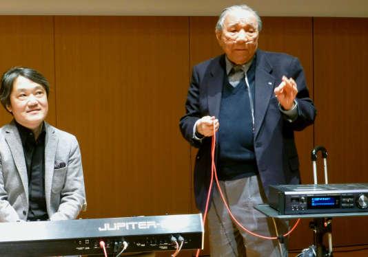 Ikutaro Kakehashi, le 11 janvier 2013 à Hamamatsu, dans le centre du Japon.
