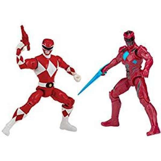 Le Power Rangers rouge en figurine.