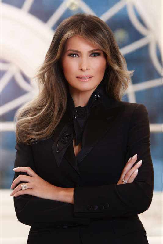 Photo officielle de Melania Trump, le 3 avril.