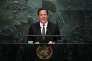 Le président du Panama, Juan Carlos Varela Rodiguez, aux Nations unies à New York, le 20 septembre.