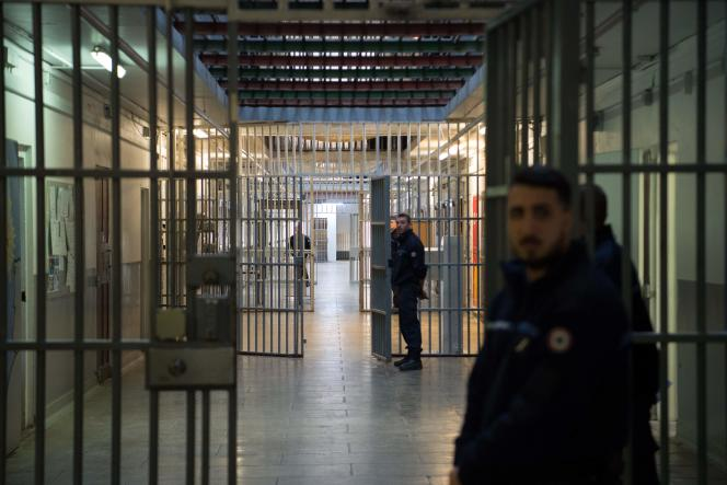 La prison des Baumettes à Marseille, ici en décembre 2016.