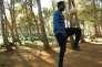 Un des compagnons d'Abou Bakar Sidibé dans le documentaire« Les Sauteurs».