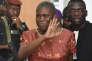 Simone Gbagbo au tribunal d'Abidjan, le 9 mai 2016