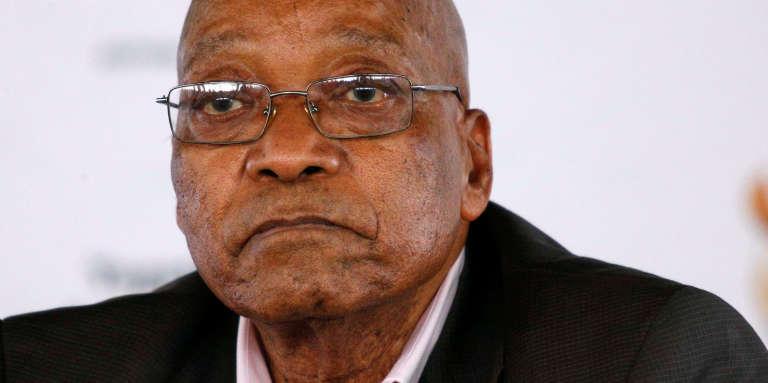 Le président sud-africain, Jacob Zuma, le 1er avril à Pietermaritzburg.