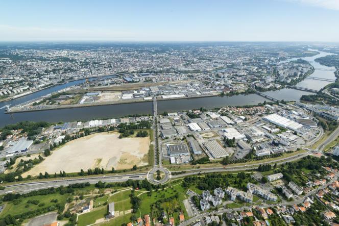 Plusieurs milliers de logements, un parc, des commerces et une ligne de tramway vont être construits sur la rive sud de Nantes.