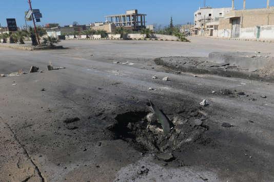 Le gouvernement syrien, accusé par plusieurs témoins et rapports d'enquête de l'ONU, a toujours démenti toute utilisation des armes chimiques dans la guerre. A Khan Cheikhoun, le 4 avril.
