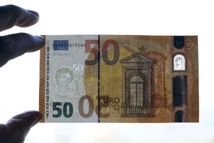 Un Nouveau Billet De 50 Euros Plus Sur