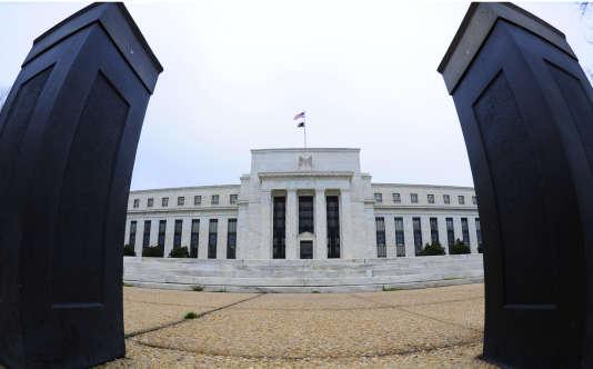 Vue de la Réserve fédérale américaine (Fed) à Washington, le 2 avril 2009.