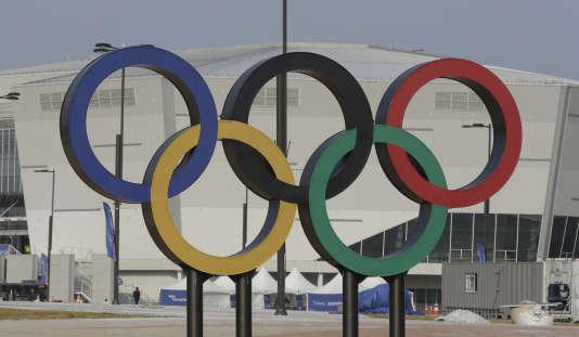 La patinoire qui accueillera les JO d'hiver en Corée du Sud.