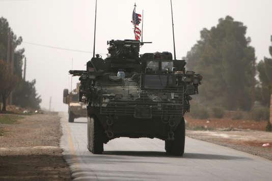 Les Etats-Unis ont renforcé ces dernières semaines leur présence militaire en Syrie.