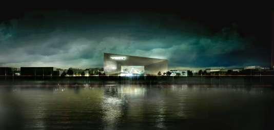 A Bordeaux, le futur Pôle régional de la culture et de l'économie créative en Aquitaine se construit dans le quartier Euratlantique.