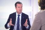 Jérôme Rivière, chargé des questions de politique étrangère auprès de la candidate du Front national, a répondu aux questions de Sylvie Kauffmann, journaliste au « Monde »