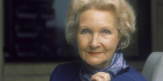 Evelyne Sullerot, en 1987.
