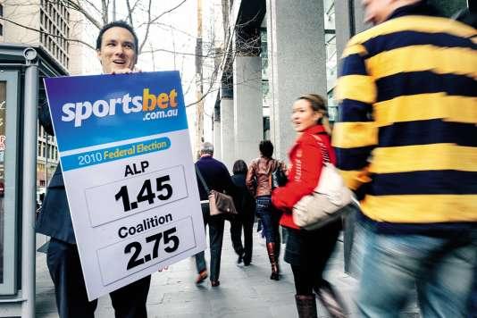 Sur le site de paris en ligne Sportsbet.com, Marine Le Pensuscite 80 % du total des paris.