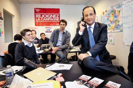 Les trois jeunes gens ont travaillé pour la campagne de François Hollande en 2012. C'est après la victoire qu'ilontdécidé de faire de cette expérience un business.