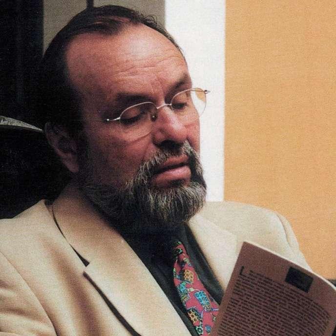 L'écrivain et linguiste Michel Arrivé.