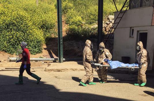 L'attaque avait fait 87 morts, dont de nombreux enfants, et avait été attribuée par les Occidentaux au régime de Bachar Al-Assad.