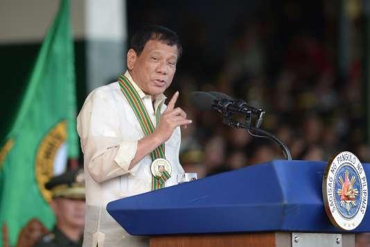 Le président philippin.