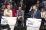 «Les candidats doivent réussir leur entrée en campagne et ne surtout pas rater leur fin de campagne.» (Photo: débat télévisé entre les onze candidats à la présidentielle 2017 sur BFM-TV et CNews au studio 210 de La Plaine-Saint-Denis, le 4 avril 2017.)
