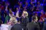 Marine Le Pen lors du débat télévisé entre les onze candidats à la présidentielle 2017 sur BFM et CNews le 4 avril 2017.