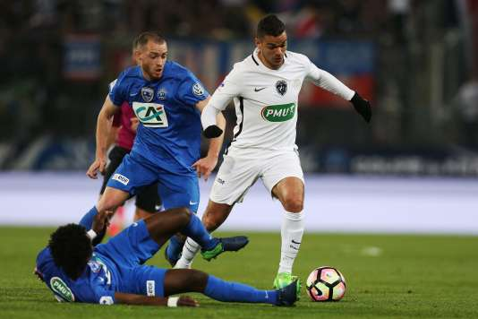 Hatem Ben Arfa a inscrit un doublé lors du quart de finale de Coupe de France.