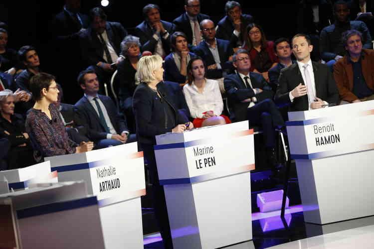 Benoît Hamon a proposé de«nationaliser temporairement»les chantiers navals de Saint-Nazaire pour éviter une fuite du«savoir-faire».