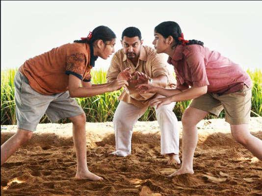 « Dangal», de et avec Aamir Khan, s'inspire de la vie du champion Mahavir Singh Phogat.