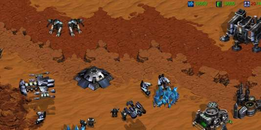 Le désert de la scène compétitive« StarCraft» en dehors de la Corée (allégorie).