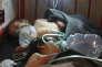 Des enfants sous traitement après l'attaque sur Khan Cheikhoun, dans une clinique de Maarat Al-Nouman, le 4 avril.