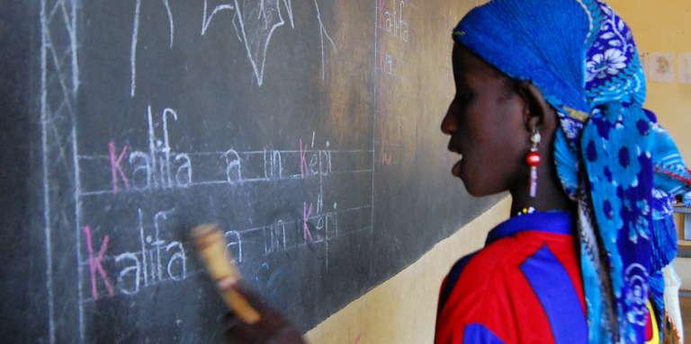 Une école à Yakouta, dans la région du Sahel, au Burkina Faso, en 2009.