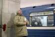 Dans la station de métro Institut-Technologique, rouverte au lendemain de l'attentat à Saint-Petersbourg le 4 avril.