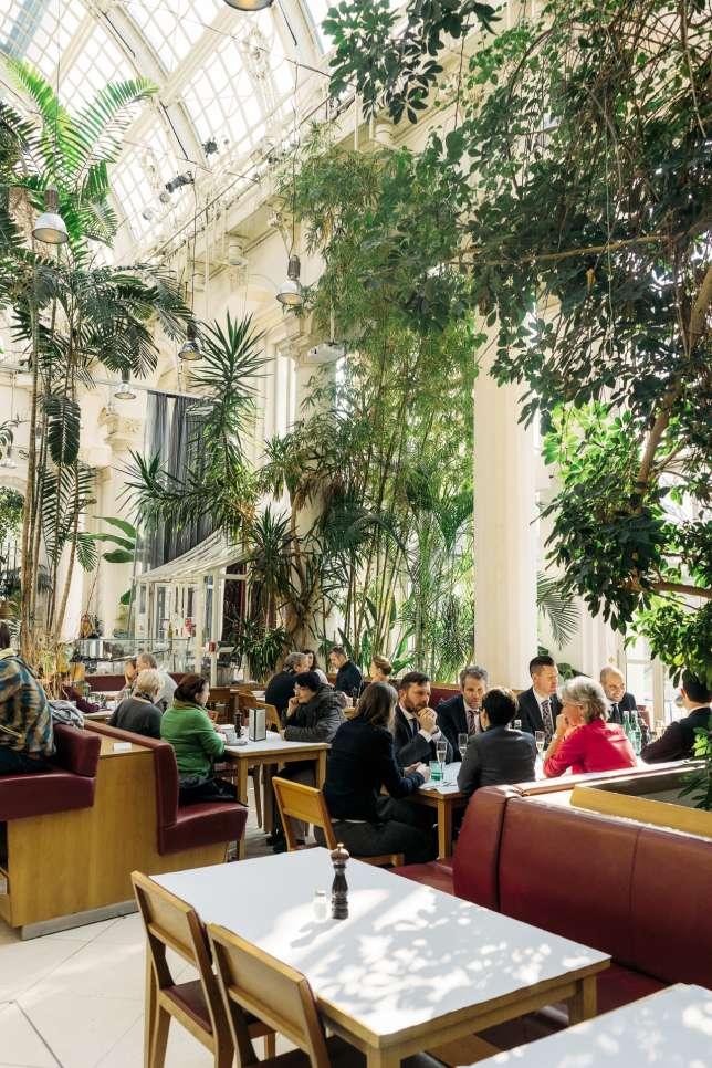 Café-restaurant Palmenhaus.