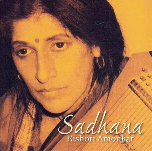 Pochette de l'album« Sadhana», de Kishori Amonkar.