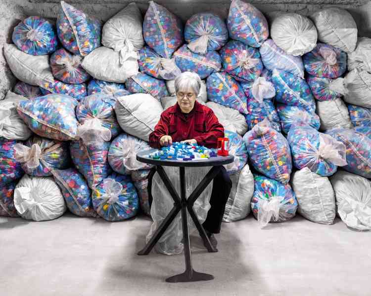Françoise Courtin, Bouchons d'amour :« L'association collecte 50 tonnes de couvercles en plastique par an. La revente finance des équipements pour personnes handicapées.»
