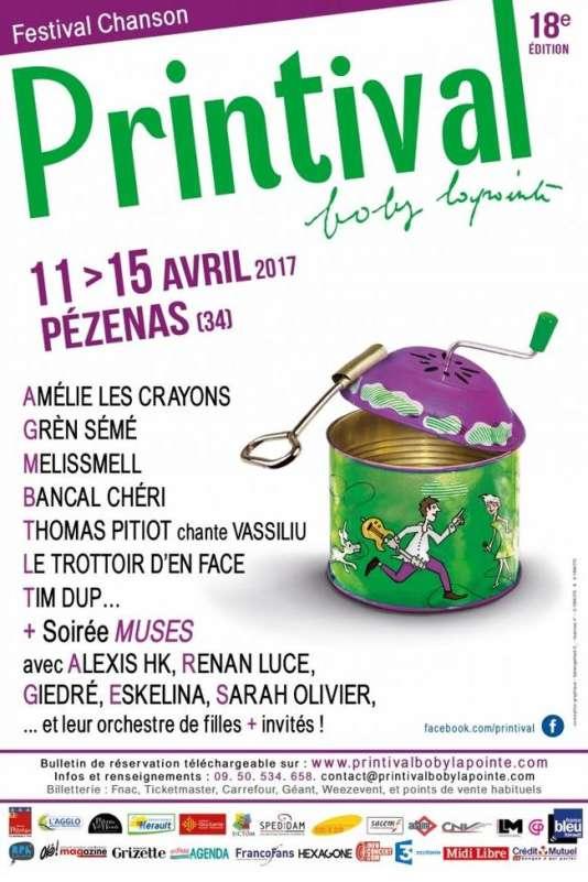 Le festival Printival à Pézenas, du 11 au 15 avril.