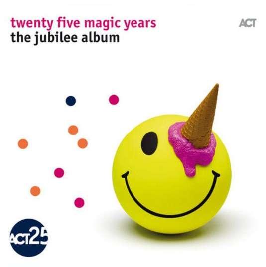 Pochette de l'album«Twenty Five Magic Years – The Jubilee Album», par divers artistes.