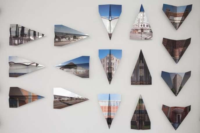 «Origami – impressions sur aluminium plié» : Pascale et Damien Peyret seront exposés au Musée de l'air et de l'espace à Dugny (Seine-Saint-Denis).