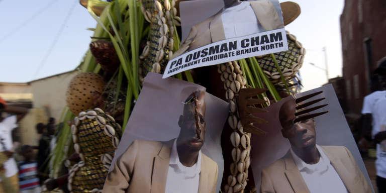 A Banjul, la capitale de la Gambie, le 4avril.