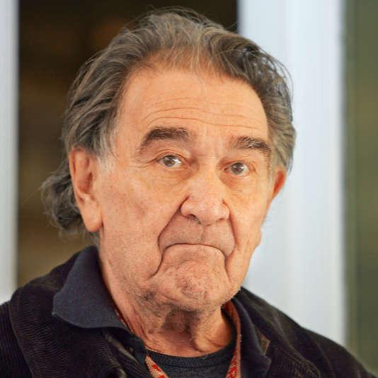 Le dramaturge Armand Gatti à Paris, le 13 juin 2005.