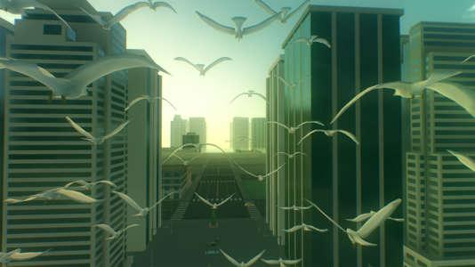 «Everything» est, à notre connaissance, le seul jeu qui permet de contrôler simultanément des oiseaux et des buildings.