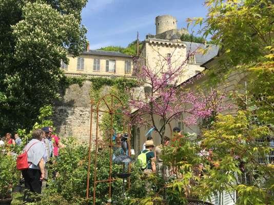 Le château de La Roche-Guyon, dans le Val-d'Oise.