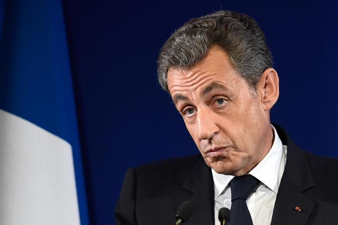 Nicolas Sarkozy le 20 novembre à Paris.