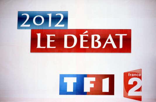 En 2012, TF1 et France 2 avaient organisé le débat d'entre-deux-tours de la présidentielle.
