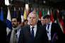 Le ministre des affaires étrangères français, Jean-Marc Ayrault, à Bruxelles le 5avril.