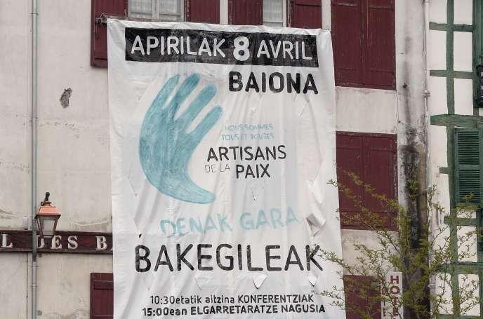 A Bayonne, le 5 avril.